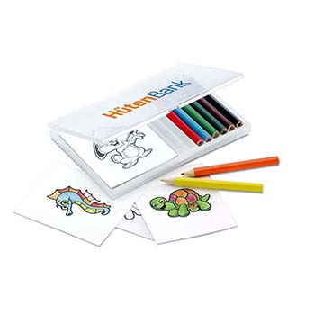 Childrens Colouring Set