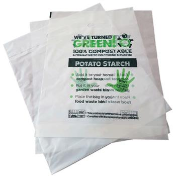 Potato Starch Carrier Bags