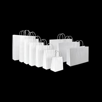 Twisted Paper Handle Carrier Bag - 25.5 x 10 x 35cm