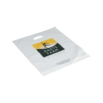 "Small Patch Carrier Bags - 10"" x 12"""