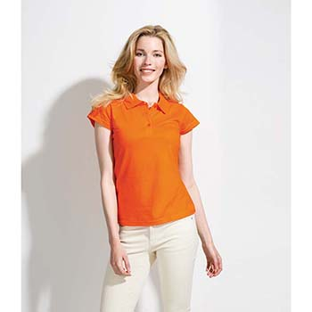 SOL'S Ladies Prescott Jersey Polo Shirt