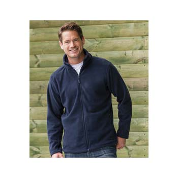 Mens Jerzees Outdoor Fleece Jacket
