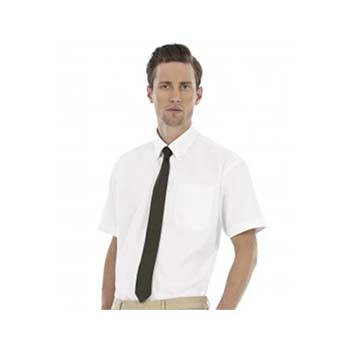 B&C Oxford Short Sleeve Shirt