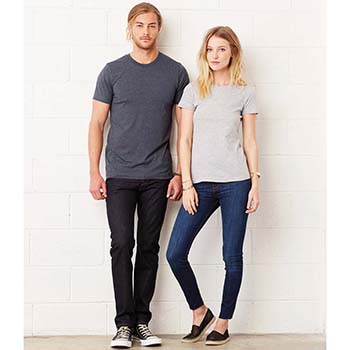Canvas Unisex Crew Neck T-Shirt