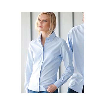 Kariban Ladies L/s Easy Care Oxford Shirt