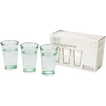 3 Water Glasses