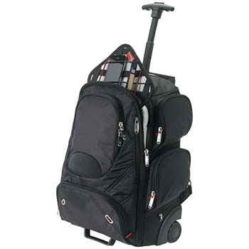 Proton Checkpoint-Friendly 17inch Comp Wheeled Bpack