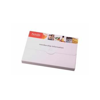 A5 Plastic Conference Box (White or Clear)