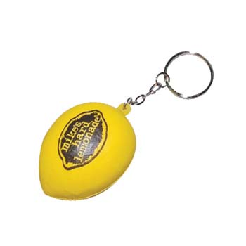 Stress Lemon Keyring