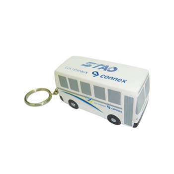 Stress Bus Keyring