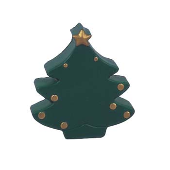 Christmas Tree Stress Shape