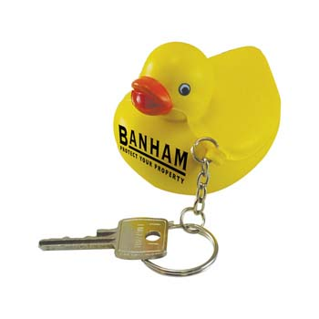 Stress Duck Keyring
