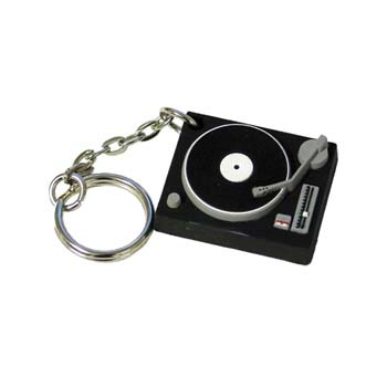 Turntable  Stress ShapeKeyring