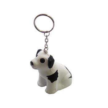Stress Dog Keyring