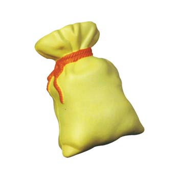 Money Bag Stress Shape