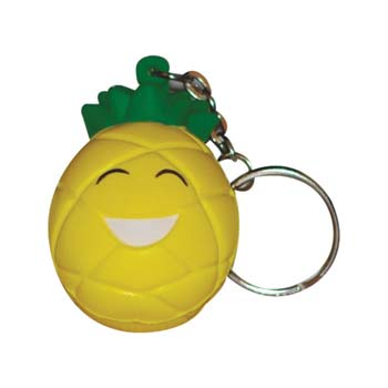 Stress Pineapple Keyring