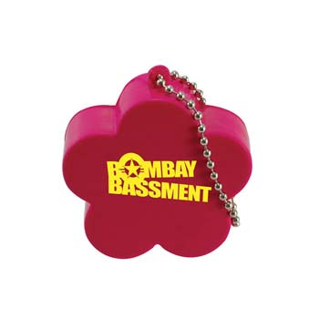Flower Stress Shape Keyring