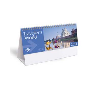 Travellers World Desktop Calendar