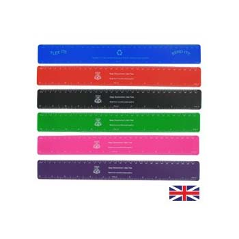 Recycled 30cm Flexi Ruler