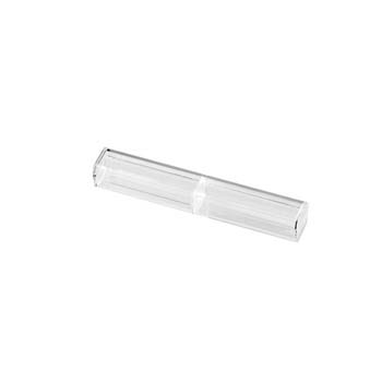 Transparent Plastic Pen Case