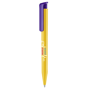 Super Hit Mix and Match Plastic Ballpen (Polished)