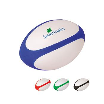 Stress Stripe Rugby Ball