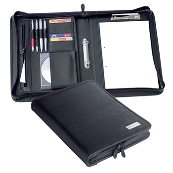 Jet A4 Zipped 2 Ring Conference Binder
