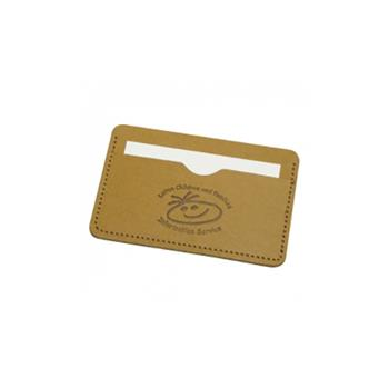 Eco Natural Business Card Wallet