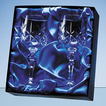 Goblet Pair Satin Lined Presentation Box