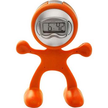 Flexi Man Alarm Clock