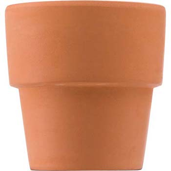 Citronella Candle In Round Clay Pot
