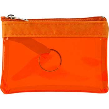 Pvc Zipped Case With Key Ring