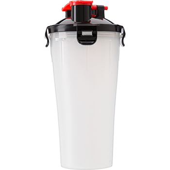 Plastic Protein Shaker (350Ml) With Two Compartments