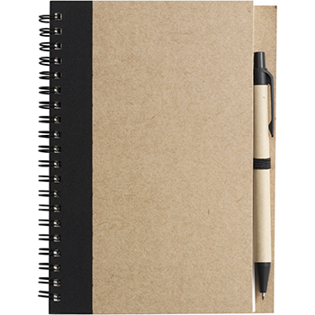 Wire Bound Notebook with Ballpen