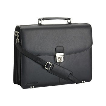 Charles Dickens Leather Briefcase
