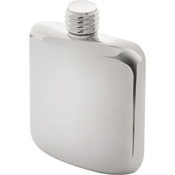 Mayfair S.P Hip Flask - Silver
