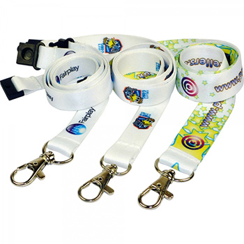 20mm Dye Sublimated Polyester Lanyard