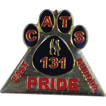 30mm Stamped Iron Soft Enamel Badge