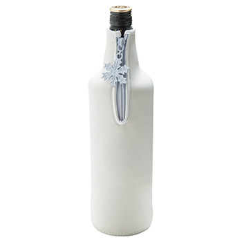 Neoprene Zipped Bottle Holder for Spirits or Champagne