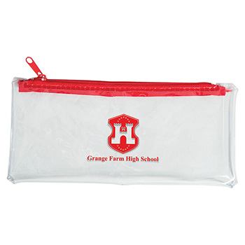 PVC Pencil Case - Clear