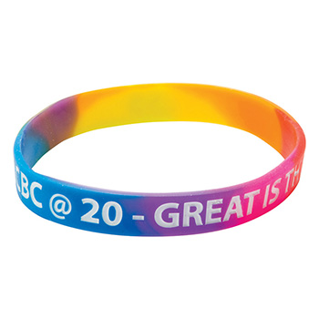 Silicone Wrist Bands - Multicolour