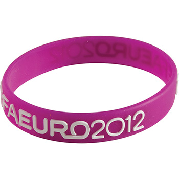 Silicone Wrist Bands - Raised