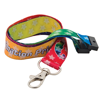 20mm Dye Sublimation Print Lanyard