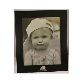 "Ebony Photo Frame - 8"" x 10"""