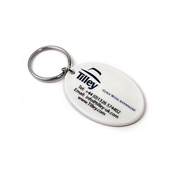 Recycled Plastic Keyring - 55mm