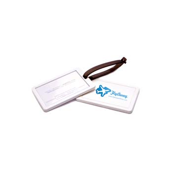 Recycled Executive Luggage Tag