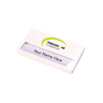 Name Badge - White