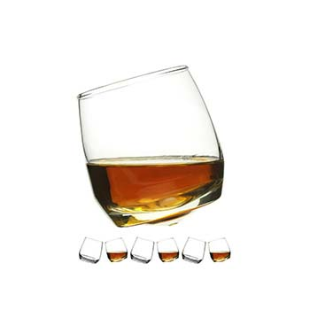 Spinning Whisky Tumbler - 20cl