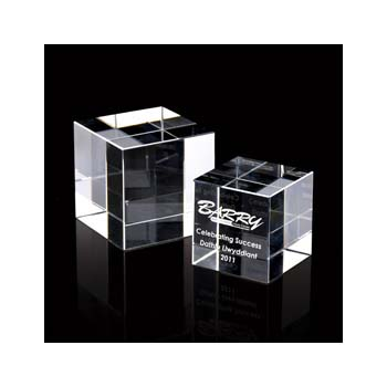 Crystal 50Mm Cube