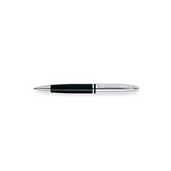 Cross Calais Chrome / Black Lacquer Ball-Point Pen